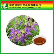 100% natural Salvia miltiorrhiza powder extract Tanshinone IIA