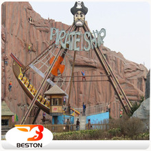 South Africa popular facility wooden halloween pirate ship for sale