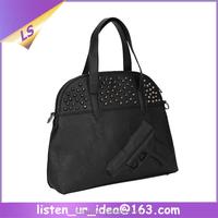 Women Leather Embossed Gun Handbags Purses