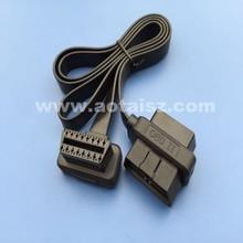 Low profile OBD cable 16 pin custom OBDii Ribbon Cable