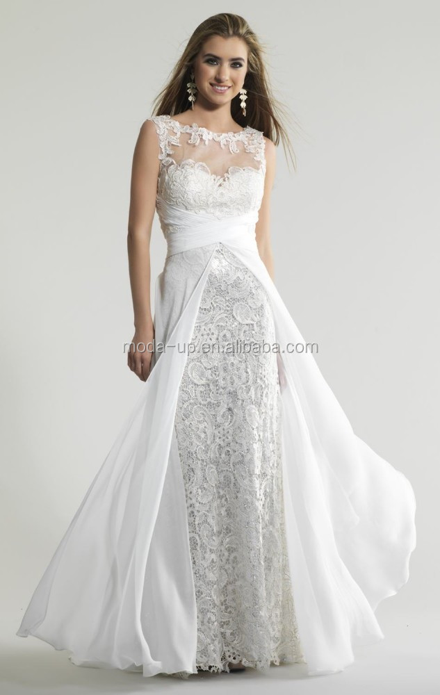 Picture suggestion for Long Flowy White Dress