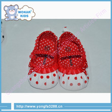 Imported From China Baby Shoes High Quality Leather Sole Soft Baby Shoes