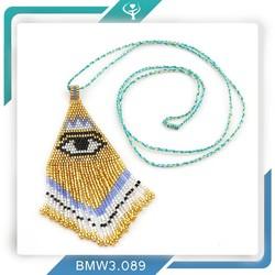 China import large 2015 designs pendant latest model fashion handmade wholesale bead necklace