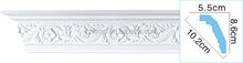 High Density Waterproof Pop Building Material PU Styrofoam Cornices of carving cornice moulding