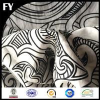 Custom digitally printed raw cotton fabric in high quality