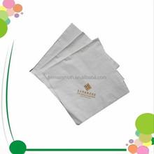 Cheap White Disposalbe Colorful Serviettes Virgin Pulp Dinner Printed Paper Napkin Custom 4 Fold