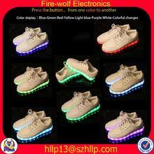 Pakistan fashion led flashing shoe manufacturer fashion lady led glow shoe
