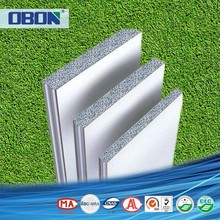 OBON cheap and fast construction eps cement prefab partition panels for garden