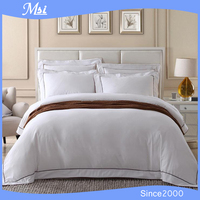 100% Cotton 300Tc Satin Bedding Set Hotel Grade Bed Linen