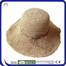 foldable cheap beach summer ladies wholesale straw hats