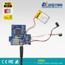 720P mini USB DIY security audio video digital camera module HD-01