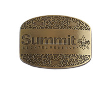 custom logo metal zinc alloy belt buckle