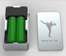 New products 2015 latest craze box mod Kungfu v2 electronic cigarette HOT on ebay china website