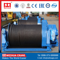 Factory Direct Sale WEIHUA Brand High Quality Electric Winch, Cable Drum Winch