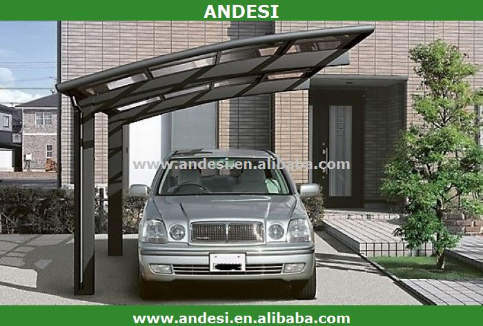 cadre en aluminium auvent abri d 39 auto garage toit et. Black Bedroom Furniture Sets. Home Design Ideas
