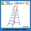 household ladder,domestic ladder, d type step aluminum extension ladder