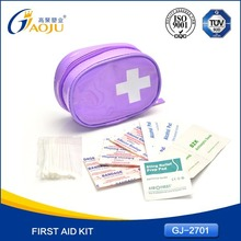 With 16 years manufacture experience convenient carry camping mini first aid kits