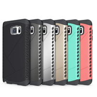 New arrival!! 2 in 1kickstand Hybrid Armour case pc+tpu slim case with stand for Note 5