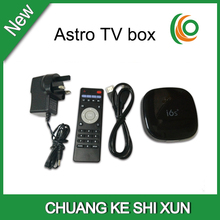 Malaysia Astro channels iptv box i6s with malaysia / HK / TW / English channels support youtube and wifi