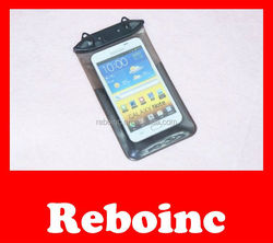 hot sale fashion mobile cell phone pvc waterproof sling bag
