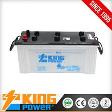 12V N150 JIS Standard 150AH Dry charged cheap auto battery electric car battery