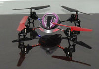 DHL/EMS/CPAM Option, WL V949 RC Beetle 4-axis Quadcopter UFO Ladybird 4CH RTF LED night navigation & 3D roll function Toy F03695
