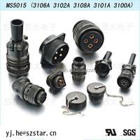 waterproof KUKDONG military connector 3 4 5 6 7 8 9 10 11 12 14 16pin circular connector