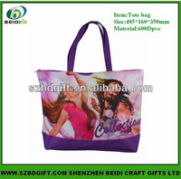 Hot Sale Lady Large Recyclable Reusable shopping bag