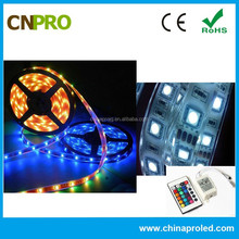 CE ROHS Approved DC 12V SMD 5050 Waterproof Full Spectrum RGB led strip