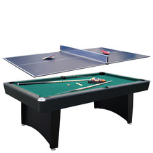 stocking and sale 2in 1 pool table ,tennis table top for adult game table
