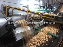 Máquina automática de Fried Snack Food / Harina Frita Snack-Machine/fritos línea de procesami Skype:sherry1017929 86-15553158922