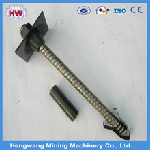 Mining hollow grouting anchor rod