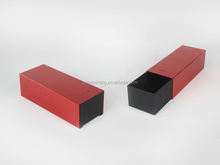 Beautiful Red Metal Boxes with Sliding For Gift Packaging