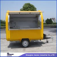 JX-FR220B Professional Customized Design Outdoor Fiberglass Street Mobile Food cart