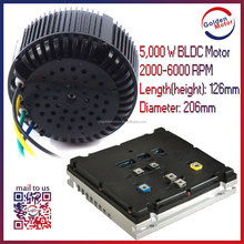 CE approved 3KW-20KW BLDC electric outboard motor