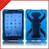 pc silicone hybrid for apple ipad mini 1 2 3 360 rotating stand case