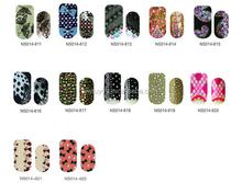 Hot selling nail decoration DIY 2012 new hot design polish nail sticker