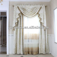 Customized Manual Curtains with High Quality Fabrics