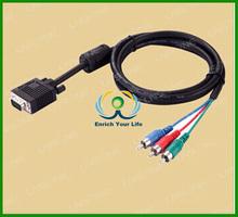 Hot sales cable vga rca casero,vga rca cable length custom