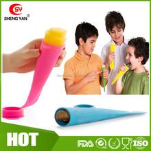 Summer hot selling FDA grade DIY silicone ice cream mould/silicone ice mold