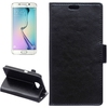 wholesale cell phone case Leather wallet flip pu case for galaxy s6 edge with great price