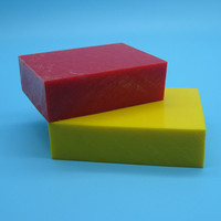 high hardness color red/yellow /blue plastic pom board