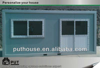 preformed shipping container houses