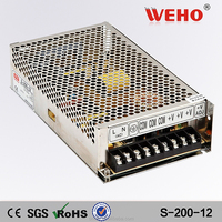 Different types 10a adapter 220v 12v 200w power supply