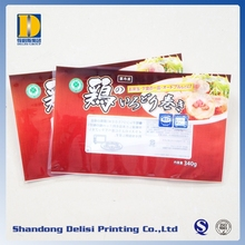 PET/PE Lamination Materials Plastic Bags for Frozen Food Packaging