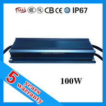 0-10V dimmable constant voltage led driver 100W