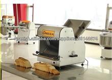 2014 máquina de alta calidad mejor acero seel ajustable tostadas máquina rebanadora