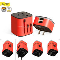 Wholesale mobile phone 5V 3.2a uk eu au us plug universal usb wall charger for iphone/ipad, travel plug adapter/charger with CE