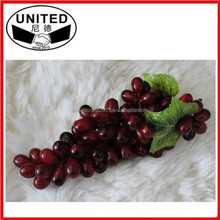 Decorative Fruit Grapes Apple Bright Display Artificial Produce Food Fake Faux