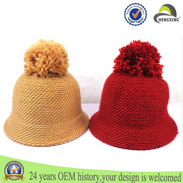 2015 malha chapéu com a bola top chapéus de senhora de cabelo bow fashon chapéu gorro de máquina